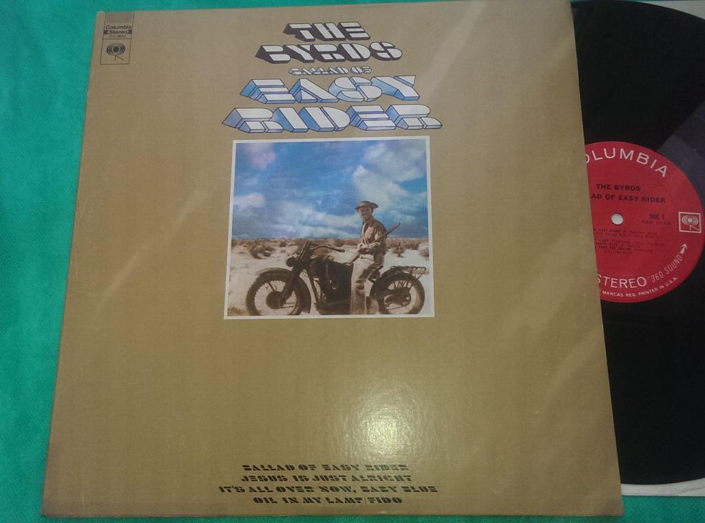 The Byrds ‎/ Ballad Of Easy Rider /69/USA/EX++/NM