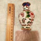 cloisonne ваза  перегородчатая эмаль   клуазоне