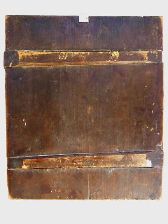 """Коллекционная икона """"  Христово Воскресение"""", аналой, Палех ,вторая половина 18 века."""