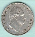 Монета 1 рупия британская Индия.1835 г.Серебро