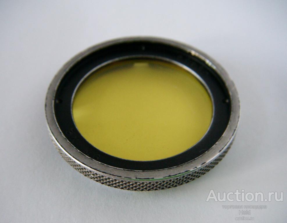 Светофильтр на объектив, желтый, ROBOT 3X MG. D.D.R. Robot-Berning