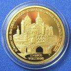"""100 евро 2009 год """"Триер"""" Германия. Всемирное наследие Юнеско.  Золото. 999 проба"""