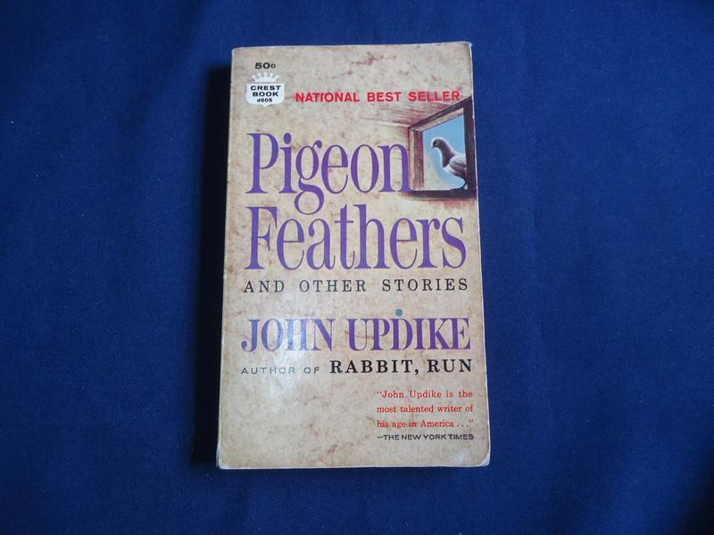 a look at pigeon feathers by john updike By updike, john publication date 1962 - sense of shelter -- dear alexandros -- wife-wooing -- pigeon feathers -- home -- archangel -- you'll never know, dear, how much i love you -- astronomer -- a & p -- doctor's wife -- lifeguard -- crow in the woods -- blessed man of boston, my grandmother's.