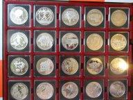 ФУТБОЛ,20 разных серебряных монет к чемпионату мира по футболу в Германии 2006 года,RRR!
