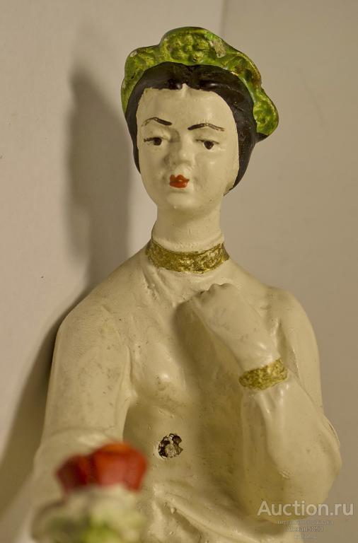 Статуэтка Аленький цветочек Кунгур гипс