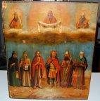 Икона Покров Пресвятой Богородицы! 19 век!!!