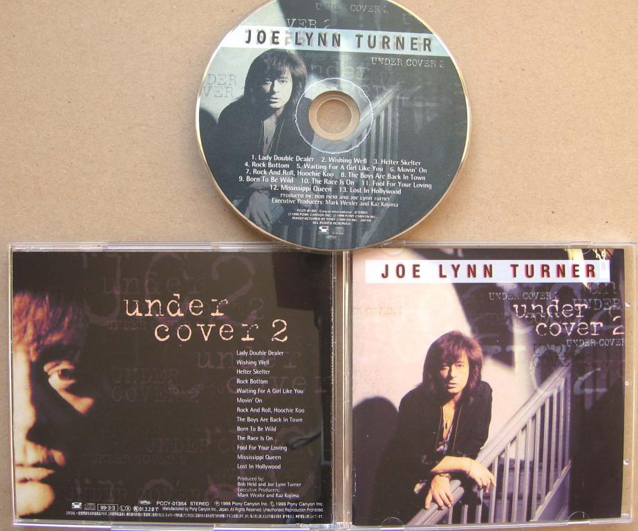 JOE LYNN TURNER Under Cover 2 1999 Reissue с Японии