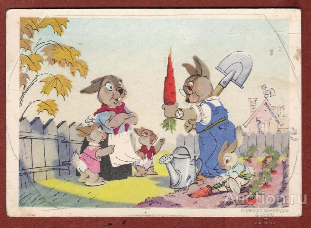 таких советская открытка весна на носу пазл это