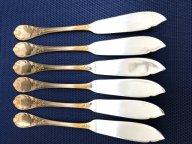 Серебро Фаберже, ножи