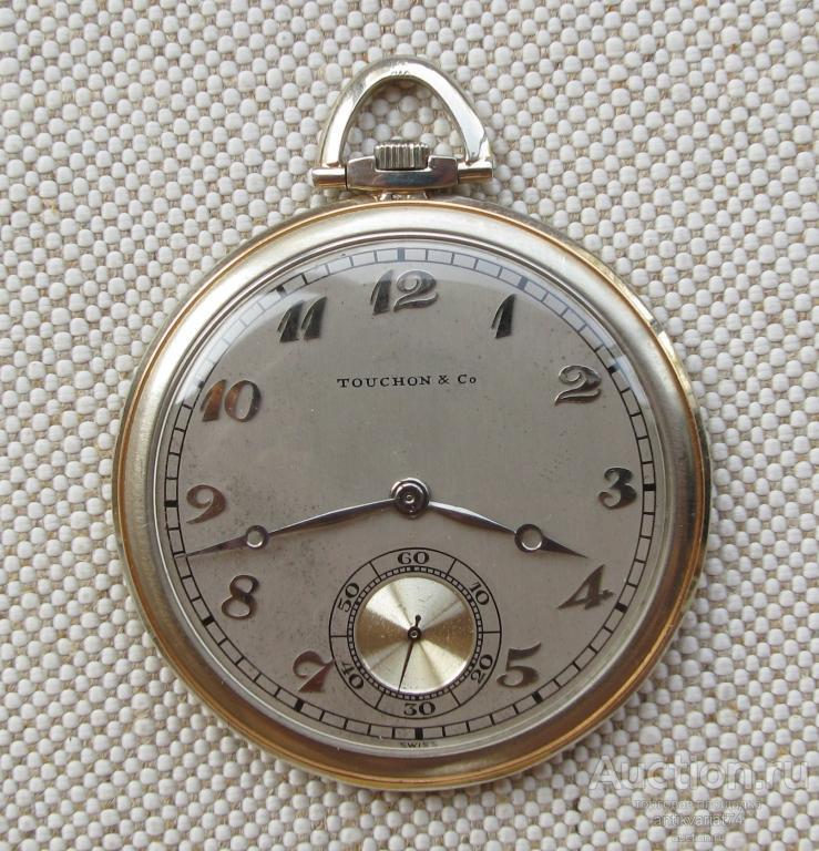 Карманные часы TOUCHON & Co. Швейцария, золото 750 проба, экстра, 8 микрорегулировок. 44685