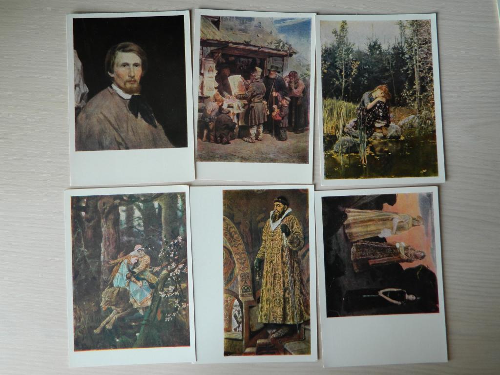 Приколы, издательство набор открыток с репродукциями васнецова