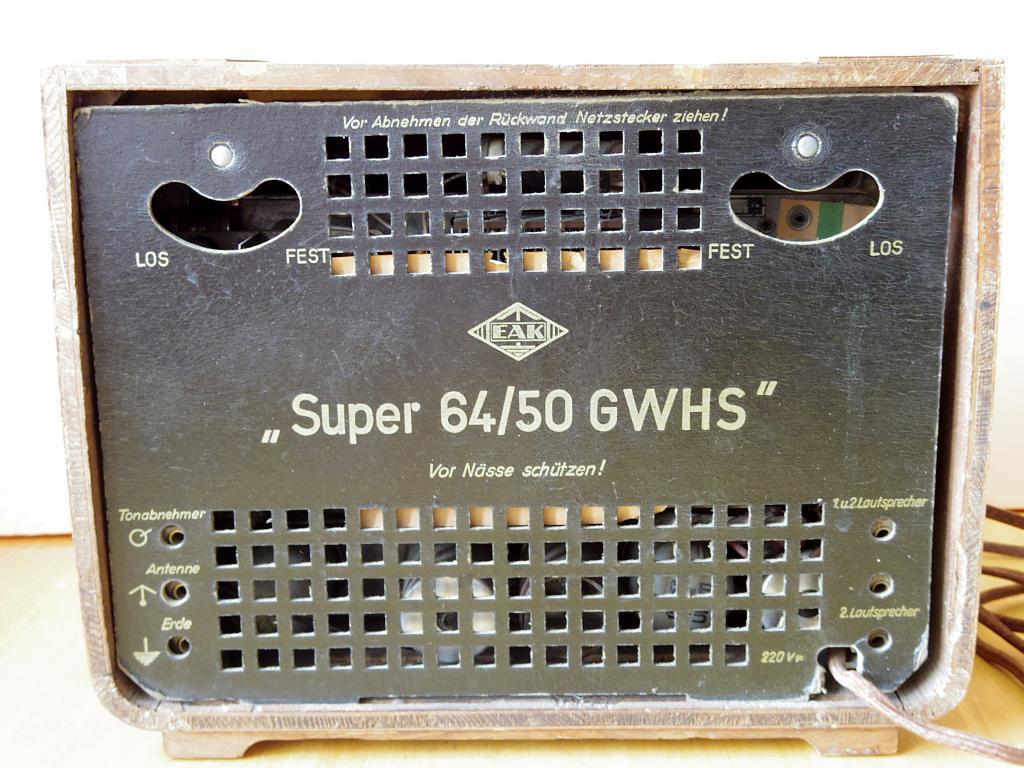 EAK Super 64/50 GWHS - красавец!