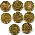 20 франков лир СКИДКА при покупке нескольких шт qwz Золото Франция Италия Швейцария Бельгия Австрия
