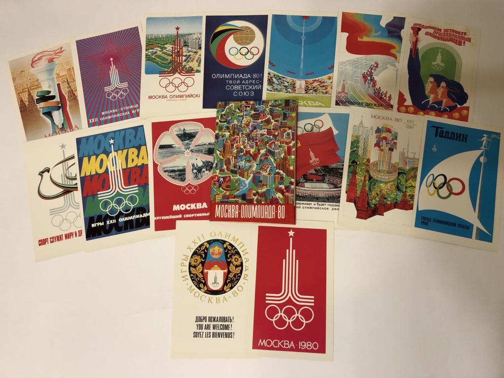 Открытки москва олимпиада 80, видио