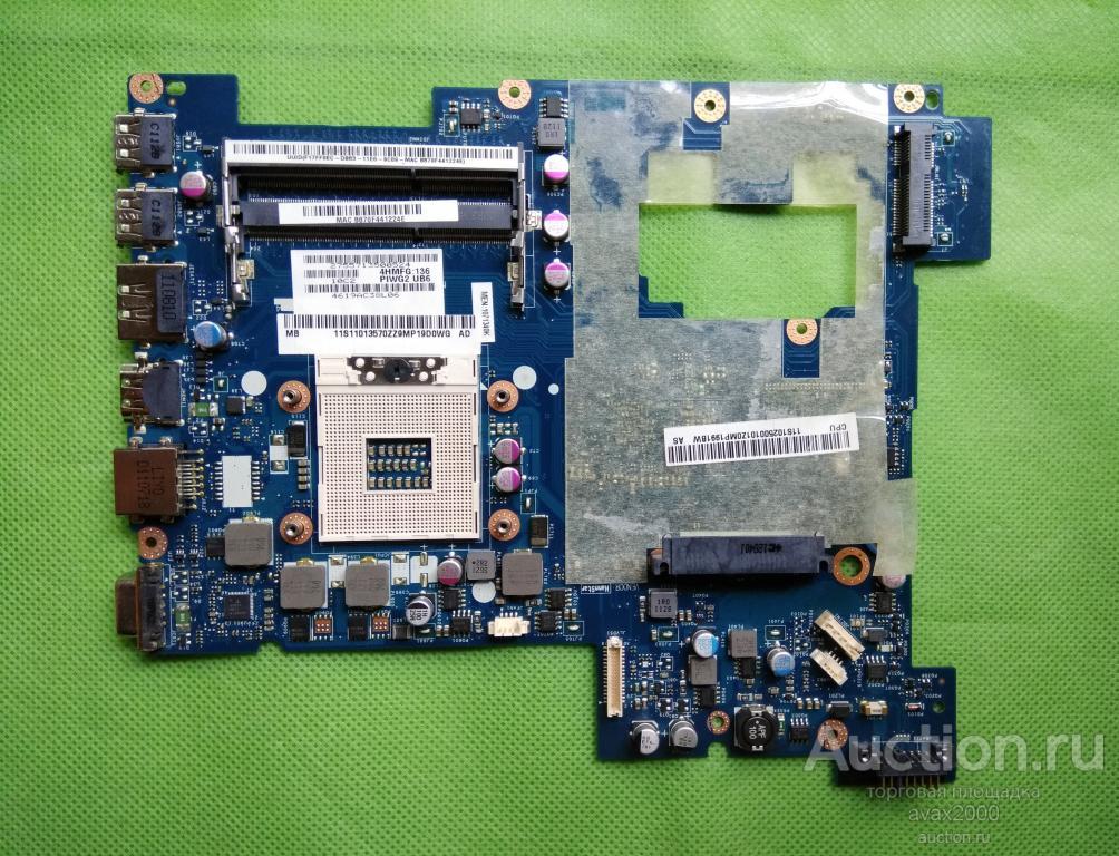 Lenovo G570 на разбор