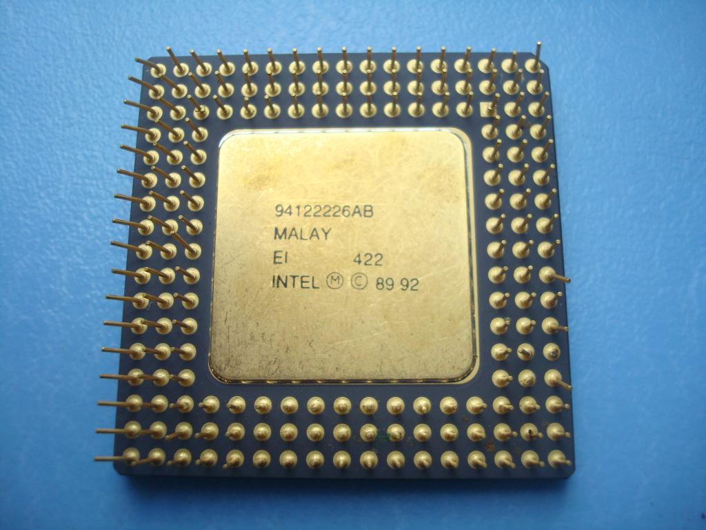 ПРОЦЕССОР- intel - i486- СХ
