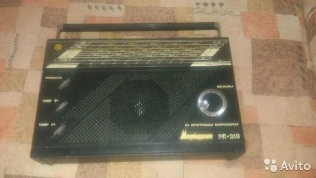 Радиоприемник Меркурий РП-210