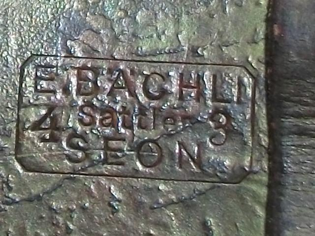 Подсумок поясной 1943 винтовки Шмидт Рубина кожа Швейцария