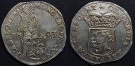 Нидерланды,Утрехт,Зильбердукат 1693 года