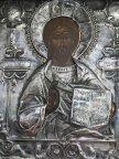 Икона Господь Вседержитель, оклад Серебро!!!