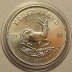 1 Ранд (Крюгерранд) 2018 год. Крюгеррэнд. Южная Африка. Серебро 999!