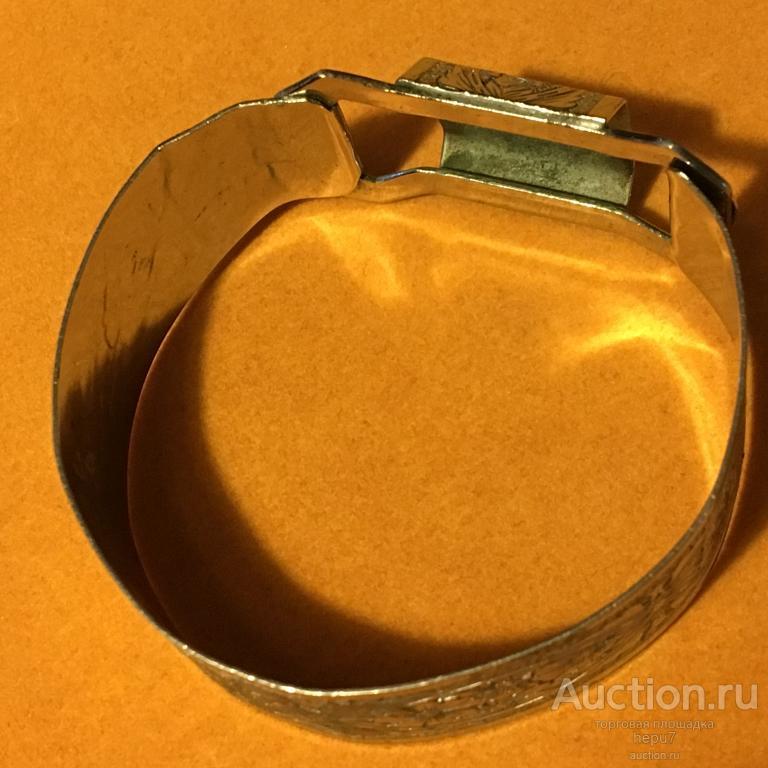 Жёсткий,разъёмный браслет-бантик