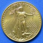 """25 долларов 1995 год Золотая монета """"Американский Орел""""  1/2 oz, Вес 17 гр. Au 916.7"""