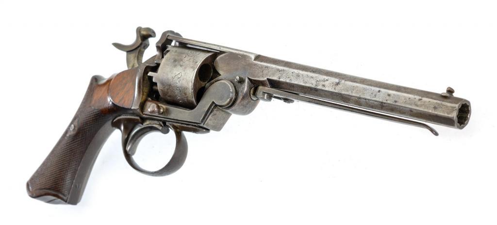 Капсюльный револьвер системы Loron