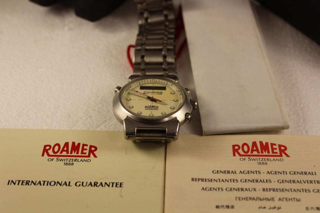 Часы ручные швейцарские мужские ROAMER POWER 8