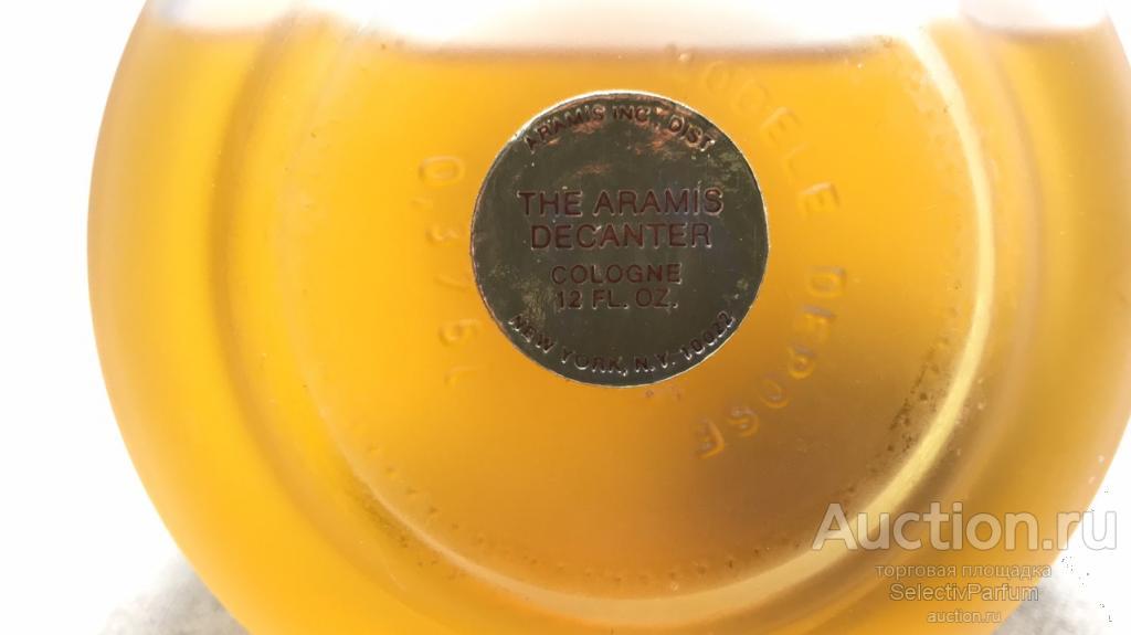 Aramis Vintage Collector's Decanter Винтаж одеколон 360мл