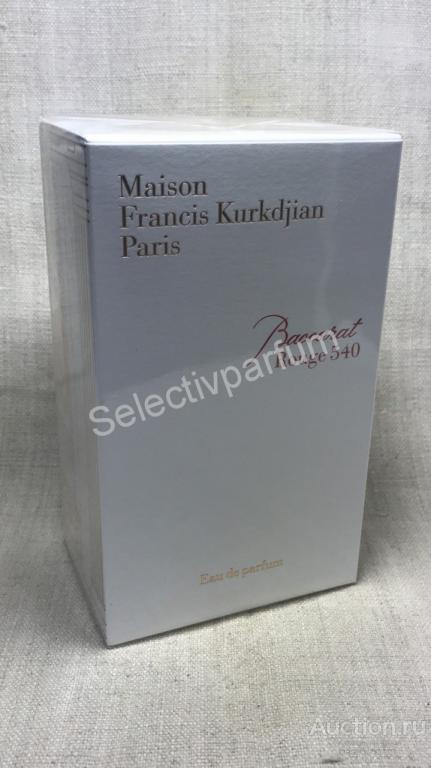 754 Maison Francis Kurkdjian Baccarat Rouge 540  парфюмированная вода 70мл