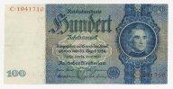 3-й Рейх 100 марок 1935 г. Аукционы от 1 руб.