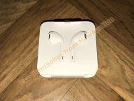  Apple EarPods Lightning с переходником, новые, оригинал (из комплекта)