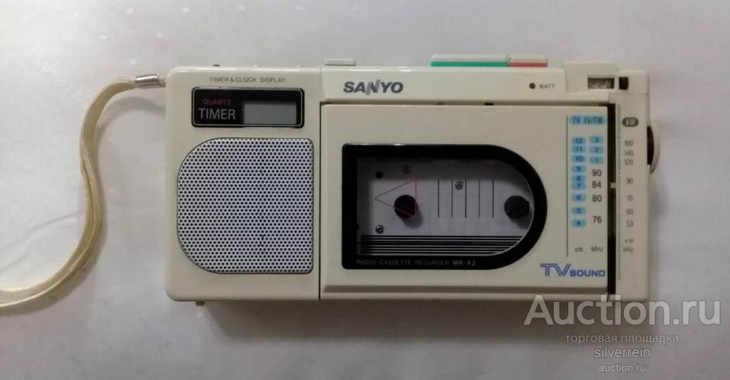 Sanyo MR-A2. Редкая!
