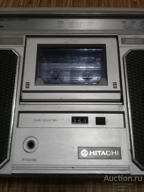 Hitachi TRK-7200W. В рабочем состоянии!