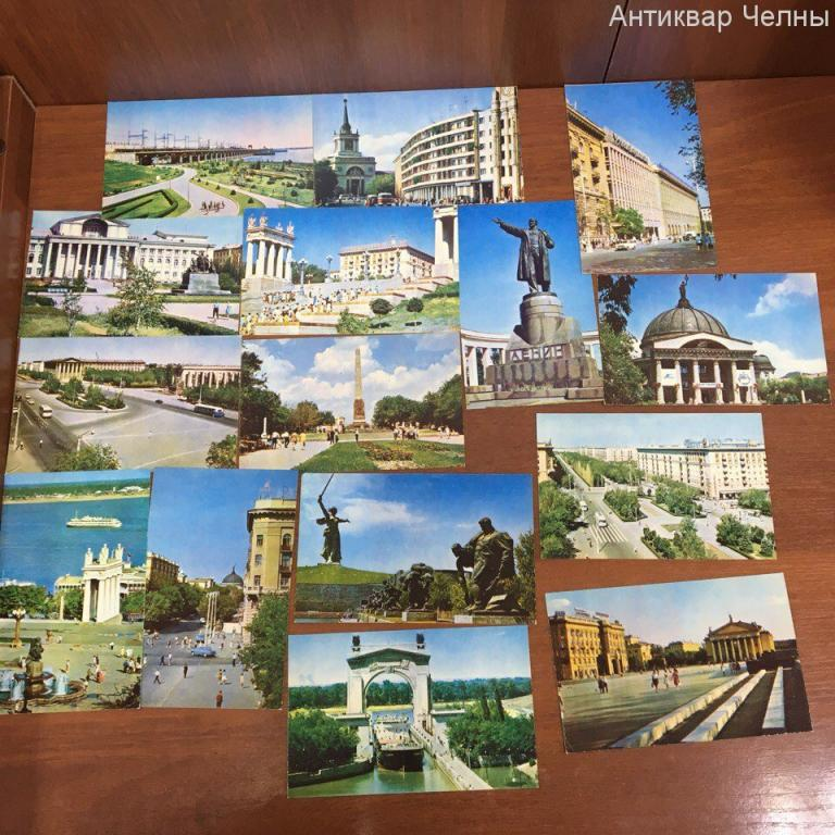 Набор открыток о волгограде, открытки казанской иконой