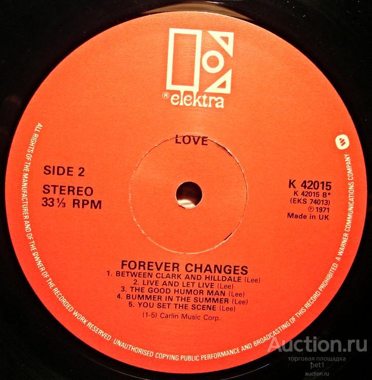 Пластинка виниловая  Love – Forever Changes(UK)