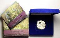 5 Фунтов 2005 год. 200 лет Трафальгарскому сражению. Великобритания. Серебро!