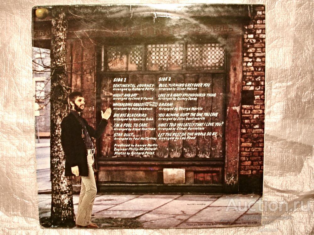Пластинка Ringo Starr – Sentimental Journey (UK )