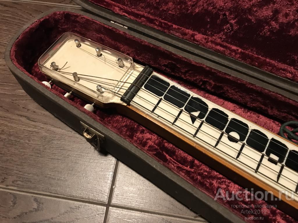 Старая  гитара электрогитара 1950х Lap Steel Мэфми
