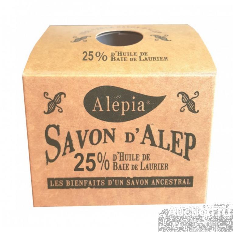 Мыло 25%лавра.Франция.Alepia