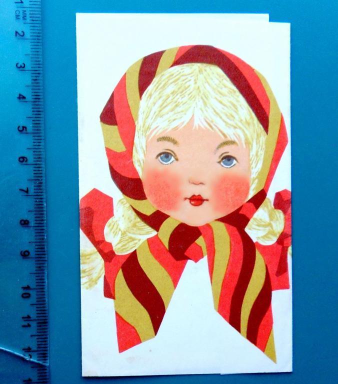 Шоколад АЛЕНКА кондитерская ф-ка им.Крупской ЛЕНИНГРАД K2-6 обертка фантик упаковка