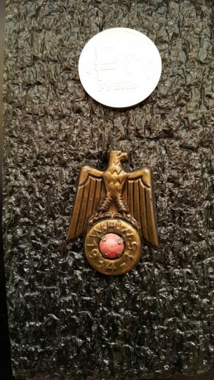 WHW. Орёл с камнем.3 рейх