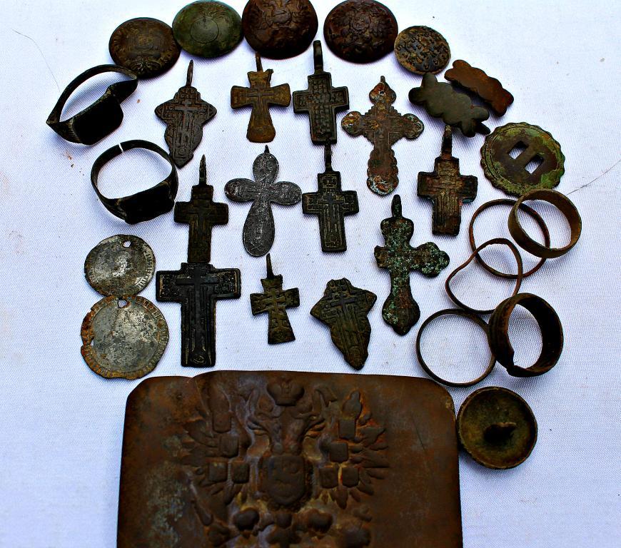 Лот крестиков +ПУГОВИЦЫ+ПЕРСТНИ,КОЛЬЦА