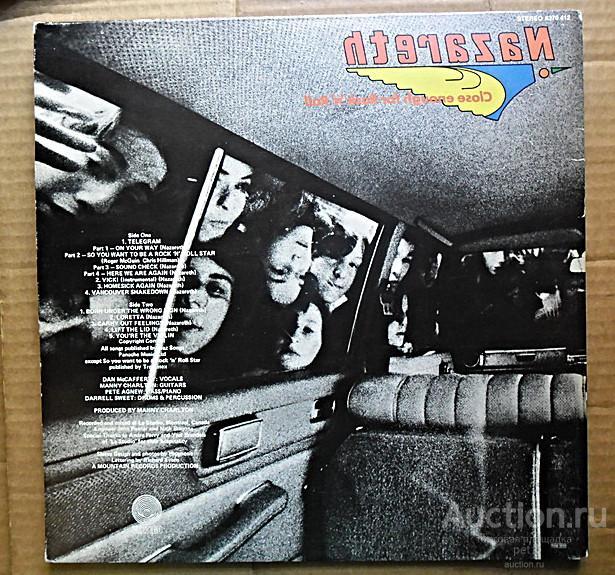 Пластинка виниловая  Nazareth – Close Enough For Rock 'N' Roll