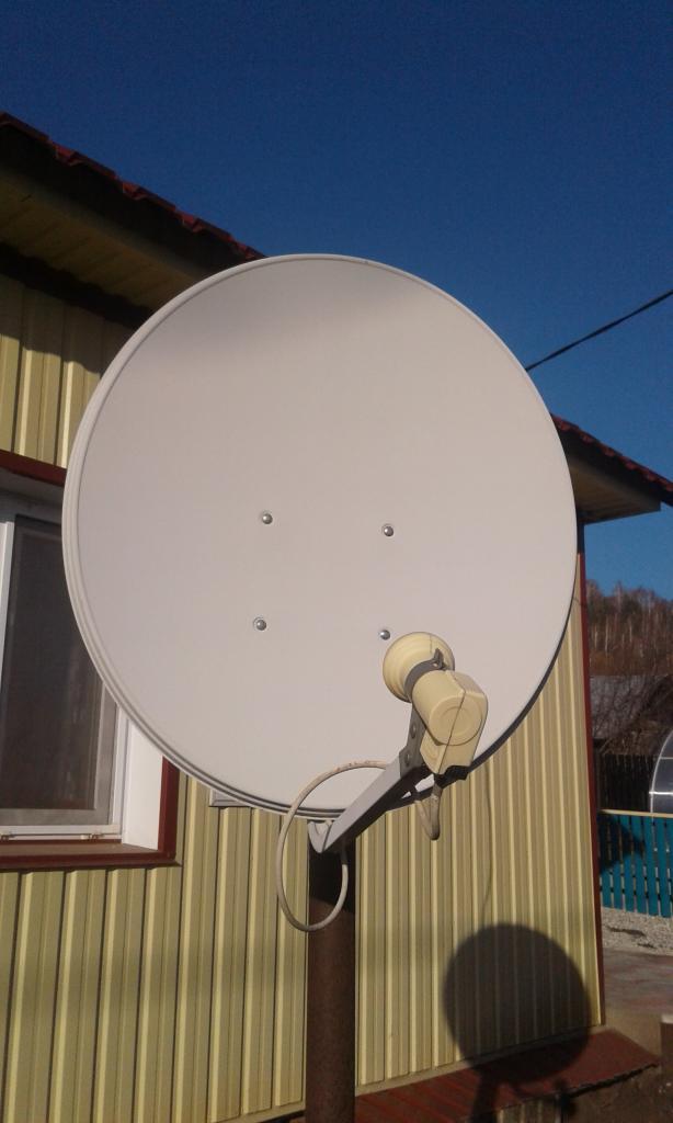 Комплект для приема спутникового телевидения ТЕЛЕКАРТА