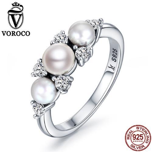 серебряное кольцо с пресноводным жемчугом