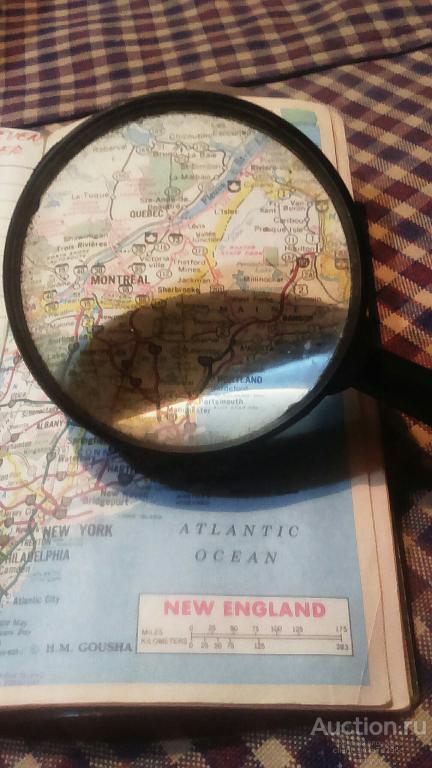 Карта U.S.A. В записной книжке 1994 года.