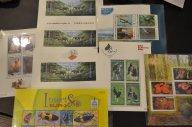 редкие малотиражные блоки Тайланда - флора и фауна