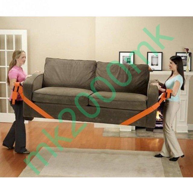 Ремни комплект (2шт) для переноски мебели и других тяжестей нейлон мебель